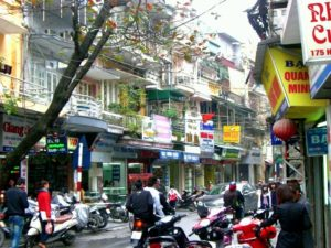 Old Quarter in Hanoi