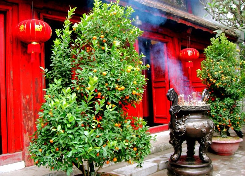 Jadetempel in Hanoi
