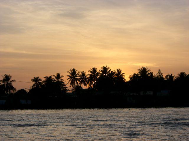Sonnenaufgang Mekong Delta