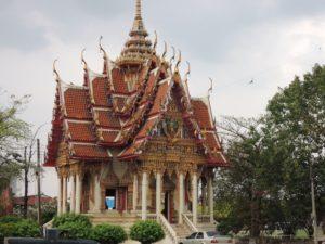 Pagode beim Wat Bang Phra