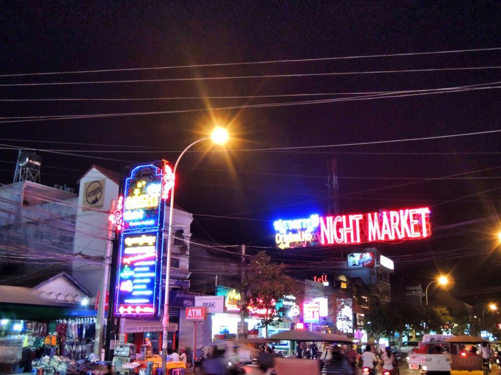 Night Market - Siem Reap