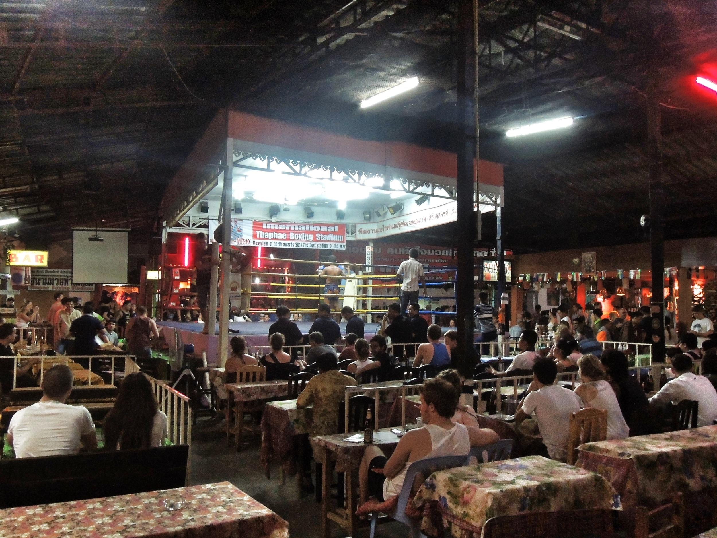 Muay Thai Boxring