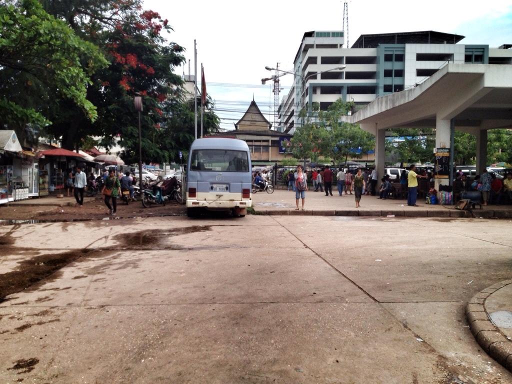 Busbahnhof Vientiane