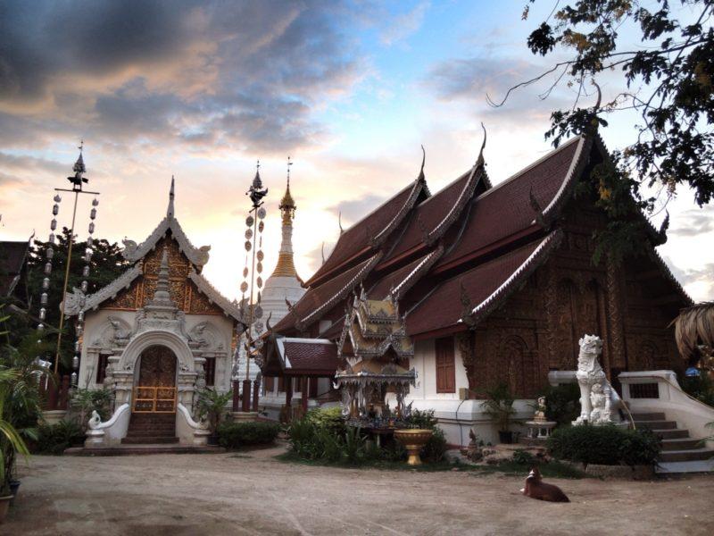 Chiang Mai. Blick von meinem Gästehaus aus.