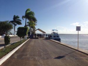 Wassertaxi nach Belize