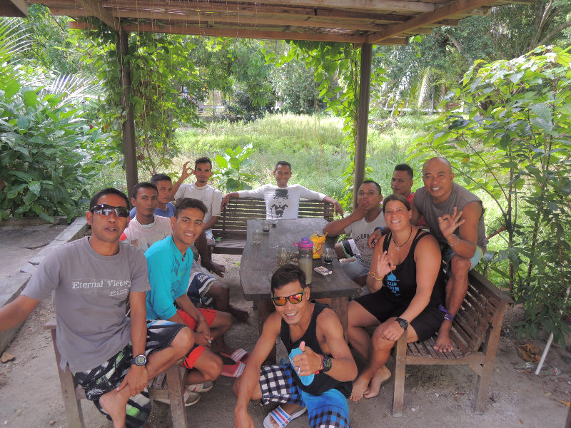 Mit den Local Guides des Lumba Lumba Dive Centre