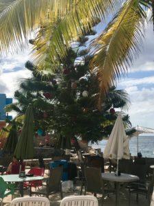Weihnachtsbaum in Cozumel