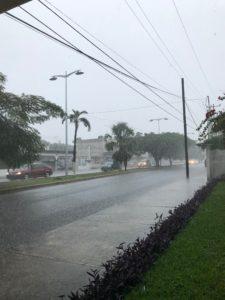 Regen in Cozumel